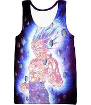 OtakuForm-OP Sweatshirt Tank Top / XXS Dragon Ball Super Awesome Hero Prince Vegeta Super Saiyan Blue Cool Sweatshirt - DBZ Clothing Sweater