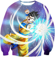 OtakuForm-OP Sweatshirt Sweatshirt / XXS Dragon Ball Super Awesome Saiyan Hero Gohan Action Sweatshirt - DBZ Sweater