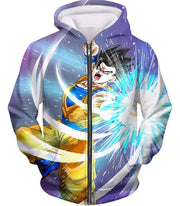 OtakuForm-OP Sweatshirt Zip Up Hoodie / XXS Dragon Ball Super Awesome Saiyan Hero Gohan Action Sweatshirt - DBZ Sweater