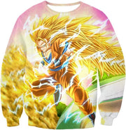 OtakuForm-OP Sweatshirt Sweatshirt / XXS Dragon Ball Super Awesome Super Saiyan 3 Goku Graphic Sweatshirt