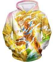 OtakuForm-OP Sweatshirt Hoodie / XXS Dragon Ball Super Awesome Super Saiyan 3 Goku Graphic Sweatshirt