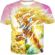 OtakuForm-OP Sweatshirt T-Shirt / XXS Dragon Ball Super Awesome Super Saiyan 3 Goku Graphic Sweatshirt