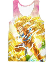 OtakuForm-OP Sweatshirt Tank Top / XXS Dragon Ball Super Awesome Super Saiyan 3 Goku Graphic Sweatshirt