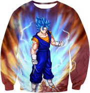 OtakuForm-OP Sweatshirt Sweatshirt / XXS Dragon Ball Super Awesome Vegito Super Saiyan Blue Anime Sweatshirt