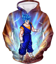 OtakuForm-OP Sweatshirt Hoodie / XXS Dragon Ball Super Awesome Vegito Super Saiyan Blue Anime Sweatshirt