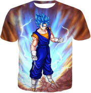 OtakuForm-OP Sweatshirt T-Shirt / XXS Dragon Ball Super Awesome Vegito Super Saiyan Blue Anime Sweatshirt