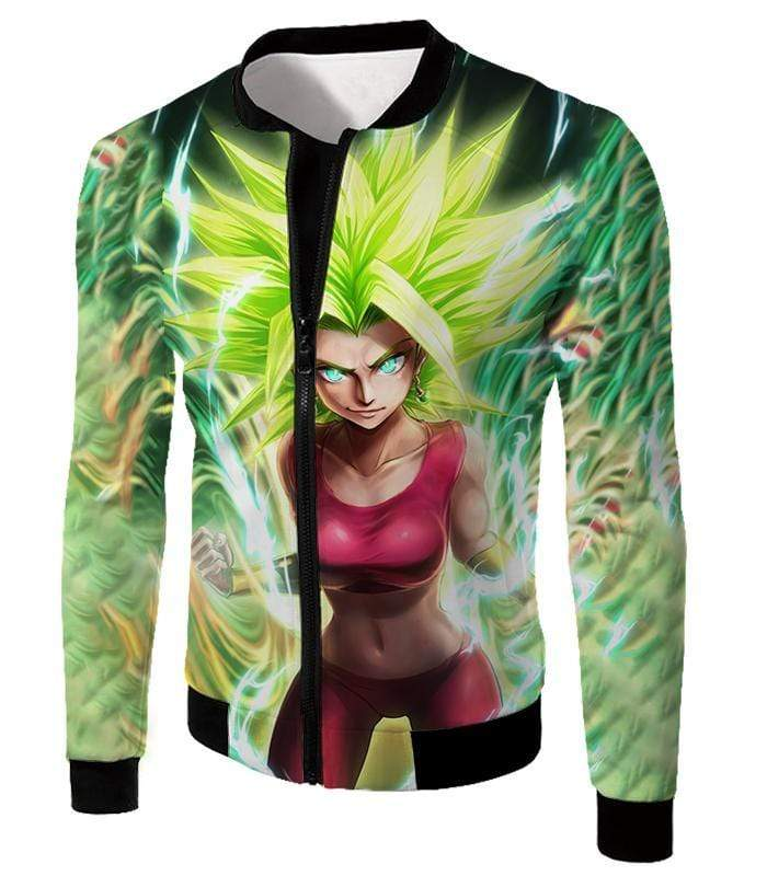 OtakuForm-OP Hoodie Jacket / XXS Dragon Ball Super Cool Legendary Super Saiyan Kale Graphic Hoodie - DBZ Clothing Hoodie
