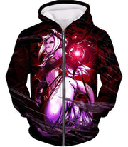 OtakuForm-OP Zip Up Hoodie Zip Up Hoodie / XXS Dragon Ball Super Dragon Ball FighterZ Android 21 Awesome Graphic Action Zip Up Hoodie - DBZ Clothing Hoodie