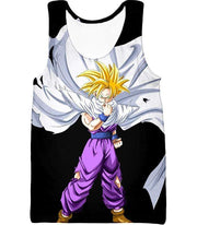 OtakuForm-OP Sweatshirt Tank Top / XXS Dragon Ball Super Extremely Cool Gohan Full Super Saiyan Awesome Black Sweatshirt - DBZ Sweater