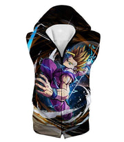 OtakuForm-OP T-Shirt Hooded Tank Top / XXS Dragon Ball Super Favourite Fighter Gohan Super Saiyan T-Shirt - Dragon Ball Z T-Shirt