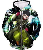 OtakuForm-OP Zip Up Hoodie Zip Up Hoodie / XXS Dragon Ball Super Favourite Hero Gohan Cool Action Graphic Zip Up Hoodie - DBZ Clothing Hoodie