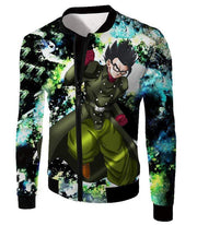 OtakuForm-OP Zip Up Hoodie Jacket / XXS Dragon Ball Super Favourite Hero Gohan Cool Action Graphic Zip Up Hoodie - DBZ Clothing Hoodie