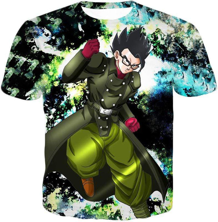 OtakuForm-OP Zip Up Hoodie T-Shirt / XXS Dragon Ball Super Favourite Hero Gohan Cool Action Graphic Zip Up Hoodie - DBZ Clothing Hoodie