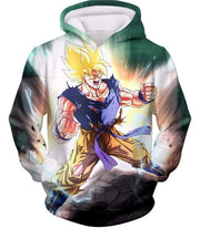 OtakuForm-OP Zip Up Hoodie Hoodie / XXS Dragon Ball Super Favourite Hero Goku Super Saiyan 2 Action Zip Up Hoodie - Dragon Ball Super Hoodie
