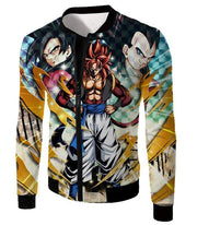 OtakuForm-OP T-Shirt Jacket / XXS Dragon Ball Super Fusion Xeno Gogeta Cool Graphic T-Shirt
