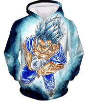 OtakuForm-OP Zip Up Hoodie Hoodie / XXS Dragon Ball Super Godly Form Super Saiyan Blue Vegito Cool Zip Up Hoodie