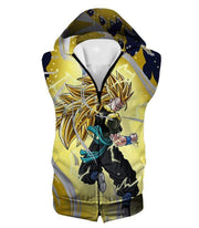 OtakuForm-OP Sweatshirt Hooded Tank Top / XXS Dragon Ball Super Gogeta Xeno Super Saiyan 3 Form Action Sweatshirt