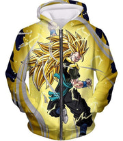 OtakuForm-OP Zip Up Hoodie Zip Up Hoodie / XXS Dragon Ball Super Gogeta Xeno Super Saiyan 3 Form Action Zip Up Hoodie