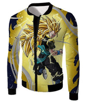 OtakuForm-OP Zip Up Hoodie Jacket / XXS Dragon Ball Super Gogeta Xeno Super Saiyan 3 Form Action Zip Up Hoodie