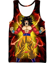 OtakuForm-OP Hoodie Tank Top / XXS Dragon Ball Super Goku Super Saiyan 4 Power Black Hoodie