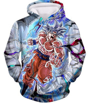 OtakuForm-OP Sweatshirt Hoodie / XXS Dragon Ball Super Hero Super Saiyan White Goku Amazing Action Sweatshirt - Dragon Ball Sweater