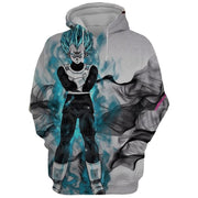 Dragon Ball Hoodie XXS Dragon Ball Super Hoodie - Vegeta Art 3D Graphic Dragon Ball Hoodie