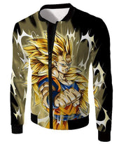 OtakuForm-OP Hoodie Jacket / XXS Dragon Ball Super Incredible Fighter Goku Super Saiyan 3 Graphic Black Hoodie