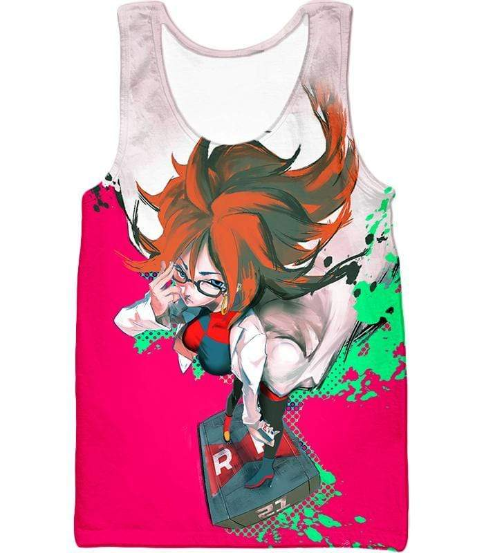 OtakuForm-OP Hoodie Tank Top / XXS Dragon Ball Super Incredibly Intelligent Android 21 Cool Hoodie - Dragon Ball Super Hoodie