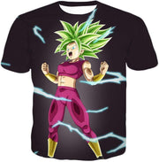 OtakuForm-OP T-Shirt T-Shirt / XXS Dragon Ball Super Legendary Super Saiyan Kale Cool Black T-Shirt - DBZ Clothing T-Shirt