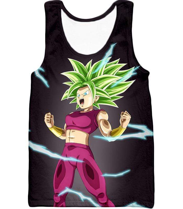 OtakuForm-OP T-Shirt Tank Top / XXS Dragon Ball Super Legendary Super Saiyan Kale Cool Black T-Shirt - DBZ Clothing T-Shirt