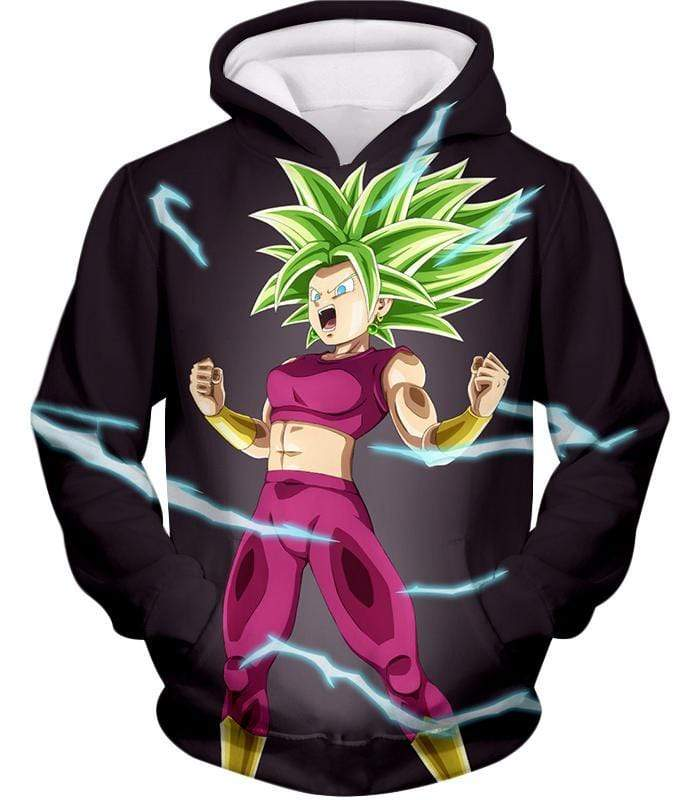 OtakuForm-OP T-Shirt Hoodie / XXS Dragon Ball Super Legendary Super Saiyan Kale Cool Black T-Shirt - DBZ Clothing T-Shirt