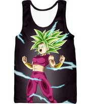 OtakuForm-OP Zip Up Hoodie Tank Top / XXS Dragon Ball Super Legendary Super Saiyan Kale Cool Black Zip Up Hoodie - DBZ Clothing Hoodie