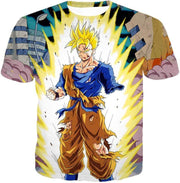 OtakuForm-OP Sweatshirt T-Shirt / XXS Dragon Ball Super One Handed Goku Super Saiyan Action Graphic Sweatshirt