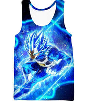 OtakuForm-OP Hoodie Tank Top / XXS Dragon Ball Super Prince Vegeta Super Saiyan Blue Ultimate Anime Graphic Action Hoodie - DBZ Hoodie