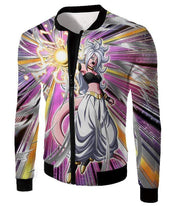 OtakuForm-OP Sweatshirt Jacket / XXS Dragon Ball Super Pure Evil Android 21 Action Sweatshirt - Dragon Ball Sweater