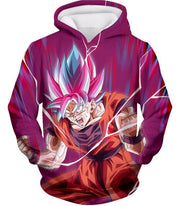OtakuForm-OP Hoodie Hoodie / XXS Dragon Ball Super Rising Power Goku Super Saiyan Blue kaio-ken Hoodie