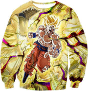 OtakuForm-OP Hoodie Sweatshirt / XXS Dragon Ball Super Super Saiyan 2 Goku Power Action Cool Graphic Hoodie - DBZ Clothing Hoodie