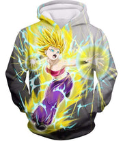 OtakuForm-OP Zip Up Hoodie Hoodie / XXS Dragon Ball Super Universe 6 Super Saiyan Caulifla Cool Action Zip Up Hoodie