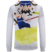 Anime Merchandise XS / White Dragon Ball Z Hoodie - Graphic Design Kid Goku Pullover Hoodie