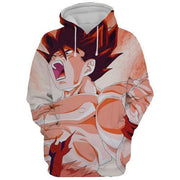 Dragon Ball Hoodie XXS Dragon Ball Z Hoodie - Super Son Goku Dragon Ball Z 3D Graphic Hoodie