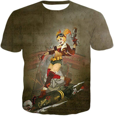 OtakuForm-OP T-Shirt T-Shirt / XXS Extremely Wild and Crazy Super Villain Harley Quinn Animated Action T-Shirt