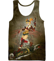 OtakuForm-OP T-Shirt Tank Top / XXS Extremely Wild and Crazy Super Villain Harley Quinn Animated Action T-Shirt
