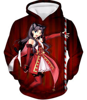 OF2 T-Shirt Hoodie / US XXS (Asian XS) Fate Stay Night Beautiful Rin Tohsaka Dancer Themed T-Shirt FSN010