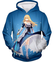 OF2 T-Shirt Hoodie / US XXS (Asian XS) Fate Stay Night Legendary Warrior Arturia Pendragon aka King Arthur T-Shirt FSN065