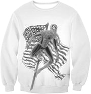 OtakuForm-OP T-Shirt Sweatshirt / XXS Favourite American Hero Spiderman Sketch White T-Shirt