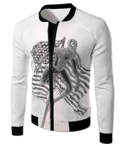 OtakuForm-OP T-Shirt Jacket / XXS Favourite American Hero Spiderman Sketch White T-Shirt