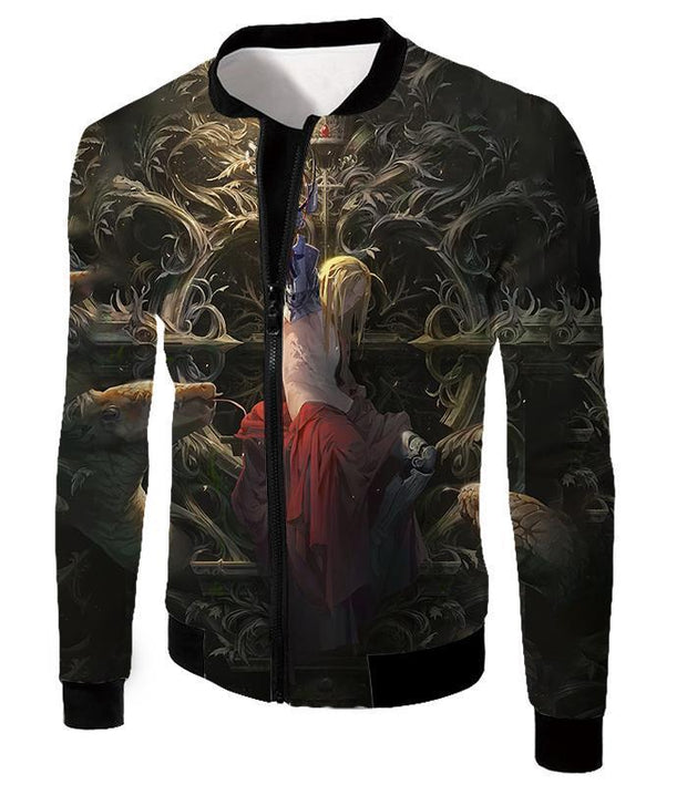 OtakuForm-OP T-Shirt Jacket / XXS Full Metal Alchemist T-Shirt - Fullmetal Alchemist Ultimate Fullmetal Alchemist Edward Elrich Art Amazing Graphic T-Shirt