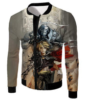 OtakuForm-OP T-Shirt Jacket / XXS Fullmetal Alchemist Amazing Elrich Brothers Edward x Alphonse Awesome Anime Art T-Shirt