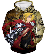 OtakuForm-OP Zip Up Hoodie Hoodie / XXS Fullmetal Alchemist Powerful Alchemist Edward Elrich Featuring Automail Right Hand Zip Up Hoodie