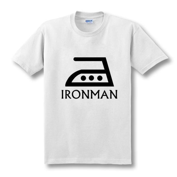 OtakuForm-SH T-Shirt White 1 / XS Funny IRON MAN Superhero T-Shirt in Multiple Colors
